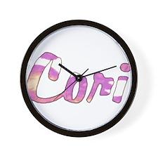 Cori Name Wall Clock