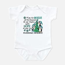 Scleroderma ChristmasPenguins1 Infant Bodysuit