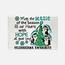 Scleroderma ChristmasP Rectangle Magnet (100 pack)