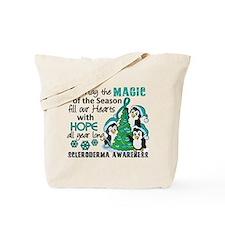 Scleroderma ChristmasPenguins1 Tote Bag