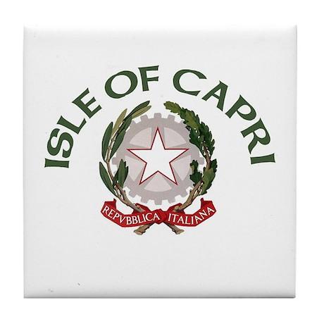 Isle of Capri Tile Coaster