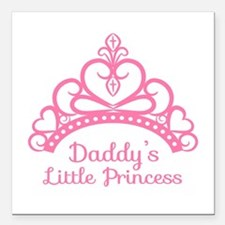 Daddys Little Princess, Elegant Tiara Square Car M
