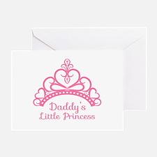 Daddys Little Princess, Elegant Tiara Greeting Car