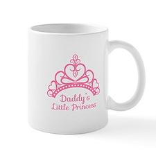 Daddys Little Princess, Elegant Tiara Mugs