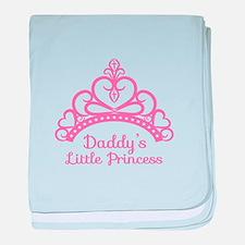 Daddys Little Princess, Elegant Tiara baby blanket