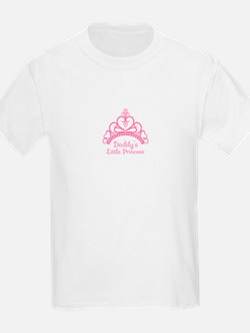 Daddys Little Princess, Elegant Tiara T-Shirt