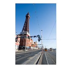 blackpool trams Postcards (Package of 8)