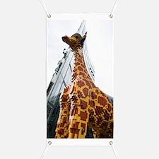 Lego Giraffe, Potsdamer Platz, Berlin Banner