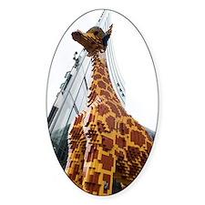 Lego Giraffe, Potsdamer Platz, Berl Decal