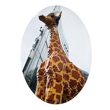 Lego Giraffe, Potsdamer Platz, Berli Oval Ornament