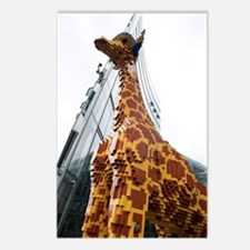 Lego Giraffe, Potsdamer P Postcards (Package of 8)
