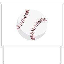 Baseball Yard Sign
