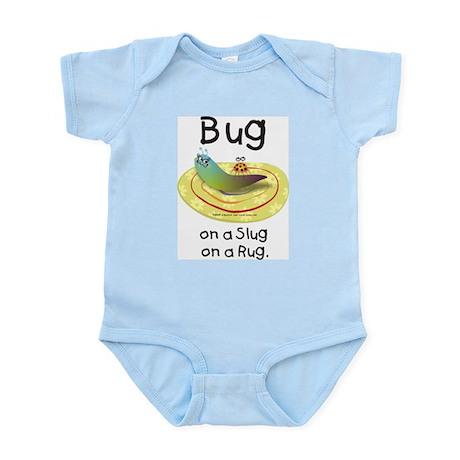 Bug on a Slug on a Rug Infant Bodysuit