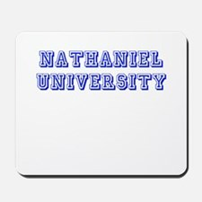 Nathaniel University Mousepad