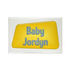 Baby Jordyn Rectangle Magnet