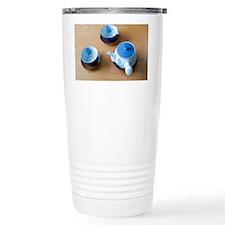 japanese tea pot and cu Travel Mug