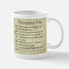November 17th Mugs