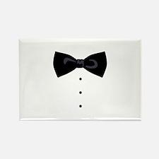 Black Bowtie Groom Gentlemen Magnets