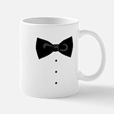 Black Bowtie Groom Gentlemen Mugs