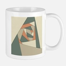 Earth Tone Shapes Construct Mugs