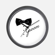 Groom Wall Clock