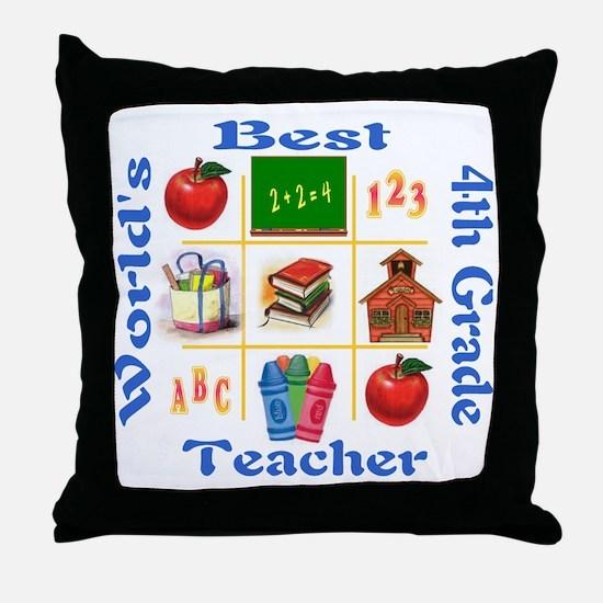 4th grade Throw Pillow