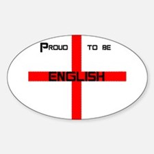Proud to be English Decal