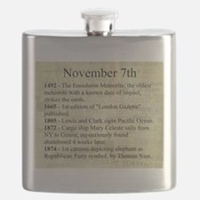 November 7th Flask