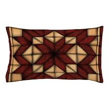 Wooden Quilt Pillow Case