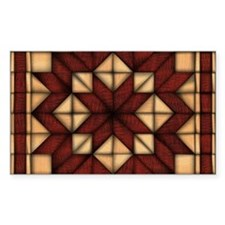 Wooden Quilt Decal