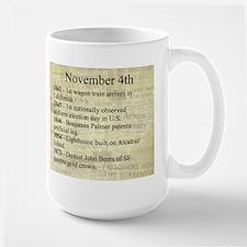 November 4th Mugs
