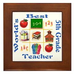 5th grade Framed Tile