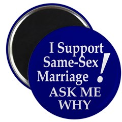 Same-Sex Marriage Magnets (10 pack)