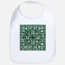 Green Marble Quilt Bib