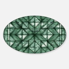 Green Marble Quilt Decal