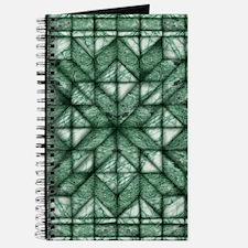 Green Marble Quilt Journal
