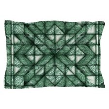 Green Marble Quilt Pillow Case