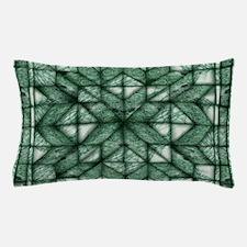 Green Marble Quilt Pillow Case