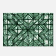 Green Marble Quilt Postcards (Package of 8)