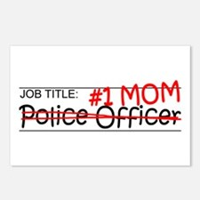 Job Mom Police Postcards (Package of 8)