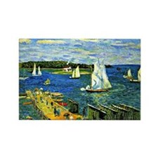 Glackens - Mahone Bay Rectangle Magnet