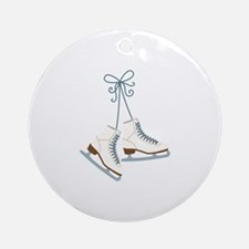 Skating Boots Ornament (Round)