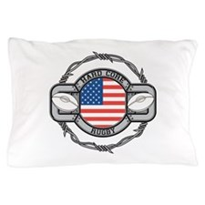 USA Hard Core Rugby Pillow Case
