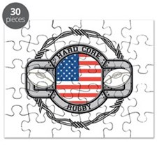 USA Hard Core Rugby Puzzle
