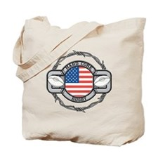 USA Hard Core Rugby Tote Bag