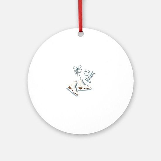 Go Figure Ornament (Round)