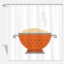 Italian Pasta Dish Food Shower Curtain