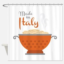 Made in Italy Shower Curtain