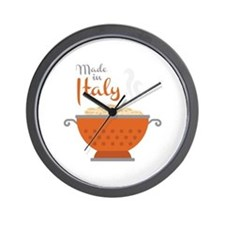 Made in Italy Wall Clock