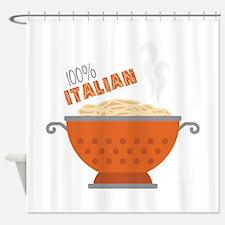 100% Italian Shower Curtain